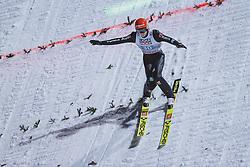 06.01.2021, Paul Außerleitner Schanze, Bischofshofen, AUT, FIS Weltcup Skisprung, Vierschanzentournee, Bischofshofen, Finale, im Bild Constantin Schmid (GER) // Constantin Schmid of Germany during the final of the Four Hills Tournament of FIS Ski Jumping World Cup at the Paul Außerleitner Schanze in Bischofshofen, Austria on 2021/01/06. EXPA Pictures © 2020, PhotoCredit: EXPA/ JFK