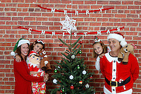 6 December 2015:  Tate, Carrie, Lucy and Casey Berg family photos.