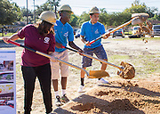 Furr High School ground breaking, October 29, 2015.