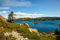 """Long Lake 4"" - Photograph of Long Lake in California's Plumas National Forest."