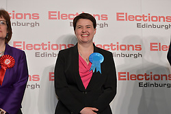 SCOTTISH PARLIAMENTARY ELECTION 2016 – Ruth Davidson, Scottish Conservative and Unionist Party Winning theCentral Area at the Scottish Parliament Elections, at the Royal Highland Centre, <br />