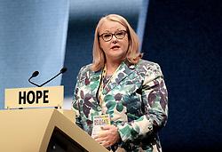 SNP Spring Conference, Sunday 28th April 2019<br /> <br /> Pictured: Christina McKelvie MSP<br /> <br /> Alex Todd   Edinburgh Elite media