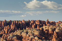 The Fiery Furnace, Arches National Park, Utah, US