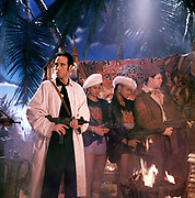 1986 Big Audio Dynamite - Medicine Show Video Shoot. Mick Jones, Nenah Cerry and Andi Oliver