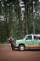 Photo of Ethan and Wendy Barrow of Adventures Across Oregon.