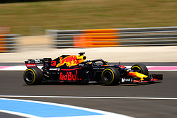 June 22, 2018 - Le Castellet, Var, France - Red Bull Racing 3 Driver DANIEL RICCIARDO (AUS) in action during the Formula one French Grand Prix at the Paul Ricard circuit at Le Castellet - France (Credit Image: © Pierre Stevenin via ZUMA Wire)