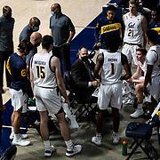 Jan 09, 2021 Berkeley, CA  U.S.A.  California head coach Mark Fox during a team huddle at the NCAA Men's Basketball game between Washington Huskies and California Golden Bears 84-78 win at Hass Pavilion Berkeley Calif.  Thurman James / CSM