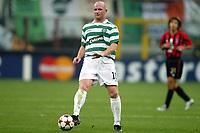 Fotball<br /> UEFA Champions League 2004/2005<br /> 29.09.2004<br /> Foto: Dppi/Digitalsport<br /> NORWAY ONLY<br /> <br /> AC MILAN v GLASGOW CELTIC <br /> <br /> JOHN HARTSON (CEL)
