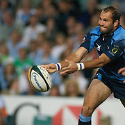 Fourie du Preez in action during the Super 14 match between the Waratahs and the Bulls at the Sydney Football Stadium, Sydney, Australia on April 11, 2009.  Photo Tim Clayton
