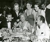 1938 Sonja Henie at the Cocoanut Grove