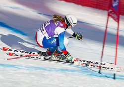 18.01.2013, Olympia delle Tofane, Cortina d Ampezzo, ITA, FIS Weltcup Ski Alpin, Abfahrt, Damen, 1. Training, im Bild Fabienne Suter (SUI) // Fabienne Suter of Switzerland in action during 1st practice of the ladies Downhill of the FIS Ski Alpine World Cup at the Olympia delle Tofane course, Cortina d Ampezzo, Italy on 2013/01/18. EXPA Pictures © 2013, PhotoCredit: EXPA/ Johann Groder
