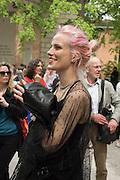 MARGARET HAINES, Venice Biennale, Venice. 6 May 2015