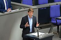 DEU, Deutschland, Germany, Berlin, 01.10.2020: Michael Leutert (DIE LINKE) bei seiner Rede während der Haushaltsdebatte im Plenarsaal des Deutschen Bundestags.