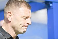 Football - 2019 / 2020 Sky Bet (EFL) Championship - Queens Park Rangers vs. Luton Town<br /> <br /> Luton Town manager Graeme Jones, at Kiyan Prince Foundation Stadium (Loftus Road).<br /> <br /> COLORSPORT/ASHLEY WESTERN