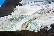 The Athabasca Glacier, Jasper National Park, Alberta, Canada