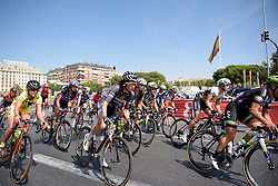 Audrey Cordon (Wiggle High5) at Madrid Challenge by La Vuelta an 87km road race in Madrid, Spain on 11th September 2016.