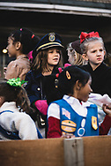 Children participate in the annual Christmas Parade in Johnson City, Tennessee (December 7, 2019)