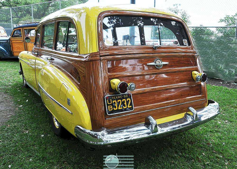 The Ford car was thoroughly updated in 1941, in preparation for a time of unpredictability surrounding World War II. The 1941 design would continue in an aborted 1942 model year and would be restarted in 1946 and produced until the more modern 1949 Fords were ready. During the initial year of this car, it evolved considerably. The front fenders came in three pieces, the theory being that small damage could be replaced easily. During the year, it evolved into 2 pieces with the lower front and back sections being joined. The hood risers changed, the early ones being the same as 1940 Fords, changing during the year to the better later version.