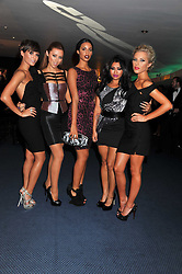 Pop group The Saturdays - Frankie Sandford, Una Healy, Rochelle Wiseman, Vanessa White and Mollie King at the GQ Men of the Year 2011 Awards dinner held at The Royal Opera House, Covent Garden, London on 6th September 2011.