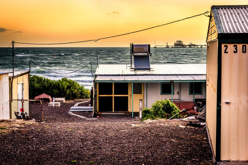 house at Port Bonython, South Australia