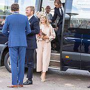 NLD/Hoogeveen/20190918 - Koningspaar brengt bezoek Zuid-west Drenthe, Koning Willem Alexander en Koningin Maxima