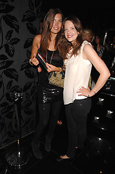 Left to right, AMANDA SHEPPARD and ARABELLA MUSGRAVE at the opening of the new club Chloe, 3 Cromwell Road, London on 7th June 2007.<br /><br />NON EXCLUSIVE - WORLD RIGHTS