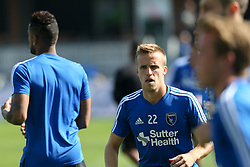 October 21, 2018 - San Jose, California, United States - San Jose, CA - Sunday October 21, 2018: Tommy Thompson prior to a Major League Soccer (MLS) match between the San Jose Earthquakes and the Colorado Rapids at Avaya Stadium. (Credit Image: © Casey Valentine/ISIPhotos via ZUMA Wire)