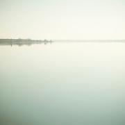 foggy morning at Lake Lowell Reservoir, Nampa, Idaho