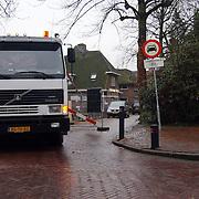 Raadhuisstraat Huizen word afgesloten