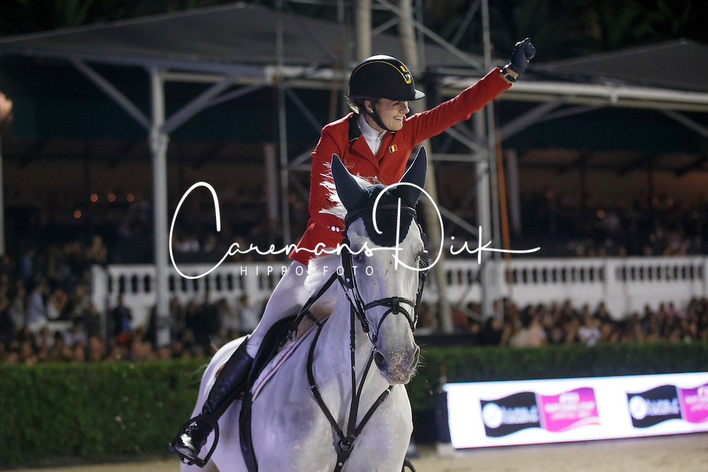 Melchior Judy Ann, (BEL), As Cold As Ice Z<br /> Final<br /> Furusiyya FEI Nations Cup Jumping Final - Barcelona 2015<br /> © Dirk Caremans<br /> 26/09/15