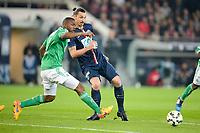 Zlatan Ibrahimovic (PSG) vs Kevin Theophile Catherine (Saint Etienne)