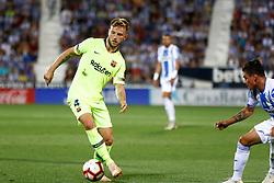 September 26, 2018 - Rakitic of FC Barcelona during the La Liga (Spanish Championship) football match between CD Leganes and FC Barcelona on September 26th, 2018 at Municipal Butarque stadium in Madrid, Spain. (Credit Image: © AFP7 via ZUMA Wire)