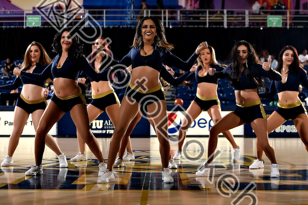2016 November 27 - FIU Golden Dazzlers performing at FIU Arena, Miami, Florida. (Photo by: Alex J. Hernandez / photobokeh.com) This image is copyright by PhotoBokeh.com and may not be reproduced or retransmitted without express written consent of PhotoBokeh.com. ©2016 PhotoBokeh.com - All Rights Reserved