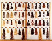 Hair Combing Machine at Gillette near Boston.