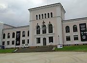 Historic building of university museum, Bergen, Norway