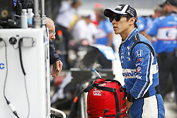 May 18, 2018 - Indianapolis, Indiana, United States of America - TAKUMA SATO (30) of Japan hangs out on pit road following a practice run during ''Fast Friday'' for the Indianapolis 500 at the Indianapolis Motor Speedway in Indianapolis, Indiana. (Credit Image: © Chris Owens Asp Inc/ASP via ZUMA Wire)