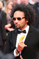 Yassine Azzouz at the the Grace of Monaco gala screening and opening ceremony red carpet at the 67th Cannes Film Festival France. Wednesday 14th May 2014 in Cannes Film Festival, France.