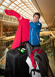 29.01.2014,  Marriott, Wien, AUT, Sochi 2014, Einkleidung OeOC, im Bild Marcel Hirscher // Marcel Hirscher during the outfitting of the Austrian National Olympic Committee for Sochi 2014 at the  Marriott in Vienna, Austria on 2014/01/29. EXPA Pictures © 2014, PhotoCredit: EXPA/ JFK