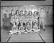 """Wilkes school girls basketball. March 2, 1951"""