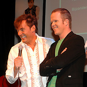 NLD/Amsterdam/20070301 - Perspresentatie So You wannabe a popstar, Gerard Joling en Erik Hulzebosch