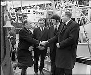 BIM Fishing Vessels Hand over.26/03/1971
