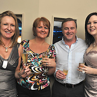 Free Pic/ No Repro Fee.Pictured at the opening of Kinsales Newest Night Club, Studio Blue, were Mags Allen and Aideen Cluskey from Blackrock with Pat Murphy, Ballintemple and Ann Marie Seaman, Bandon..Pic. John Allen
