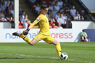 Luca Ashby-Hammon of England (1) during the UEFA European Under 17 Championship 2018 match between England and Italy at the Banks's Stadium, Walsall, England on 7 May 2018. Picture by Mick Haynes.