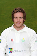 Will Bragg. Glamorgan County Cricket Club, season 2012, photocall at the Swalec Stadium in Cardiff. pic by Andrew Orchard