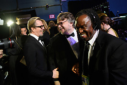 Gary Oldman and Guillermo del Toro backstage during the live ABC Telecast of The 91st Oscars® at the Dolby® Theatre in Hollywood, CA on Sunday, February 24, 2019.