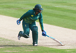 June 15, 2018 - Canterbury, England, United Kingdom - Chloe Tryon South Africa Women.during Women's One Day International Series match between England Women against South Africa Women at The Spitfire Ground, St Lawrence, Canterbury, on 15 June 2018  (Credit Image: © Kieran Galvin/NurPhoto via ZUMA Press)