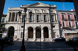 Il Teatro Comunale di Barletta è intitolato al direttore artistico barlettano Giuseppe Curci che ne curò la direzione artistica dal 6 aprile 1872, data di inaugurazione del teatro, fino alla sua morte avvenuta il 5 agosto 1877. Il teatro, inizialmente intitolato a San Ferdinando, fu acquistato dal Comune nel 1864, a seguito di un parziale crollo, dal momento che la società proprietaria non aveva le risorse finanziarie per restaurarlo. Per il restauro il Comune decise di procedere all'abbattimento e successiva ricostruzione. Il progetto è del 1866 ad opera di tale signor Anaclerio; la direzione lavori fu affidata all'architetto Federico Santacroce, capo dell'ufficio tecnico della città, e nel 1868 ebbero inizio i lavori che si conclusero nel 1872..