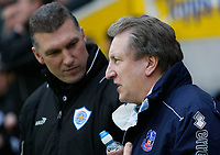 Photo: Steve Bond/Richard Lane Photography. Leicester City v Crystal Palace. E.ON FA Cup Third Round. 03/01/2009. Nigel Pearson (L) and Neil Warnock (R) before kick off