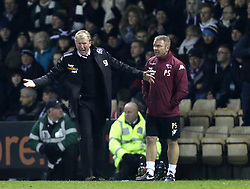 Derby County Manager, Steve McClaren shows the pressure - Photo mandatory by-line: Matt Bunn/JMP - Tel: Mobile: 07966 386802 10/02/2014 - SPORT - FOOTBALL - Derby - Pride Park - Derby County v QPR - Sky Bet Championship