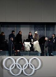 PyeongChang Olympics South Korean President Moon Jae-in shakes hands with Kim Yo-Jong, sister of North Korean leader Kim Jong Un, during the Opening Ceremony of the PyeongChang 2018 Winter Olympic Games at the PyeongChang Olympic Stadium in South Korea.